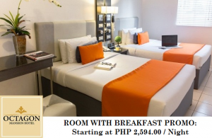Room with Breakfast Regular Promo (Visa or Mastercard)